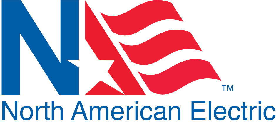 North American Electric, Inc. Logo